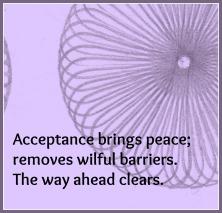 acceptance haiku