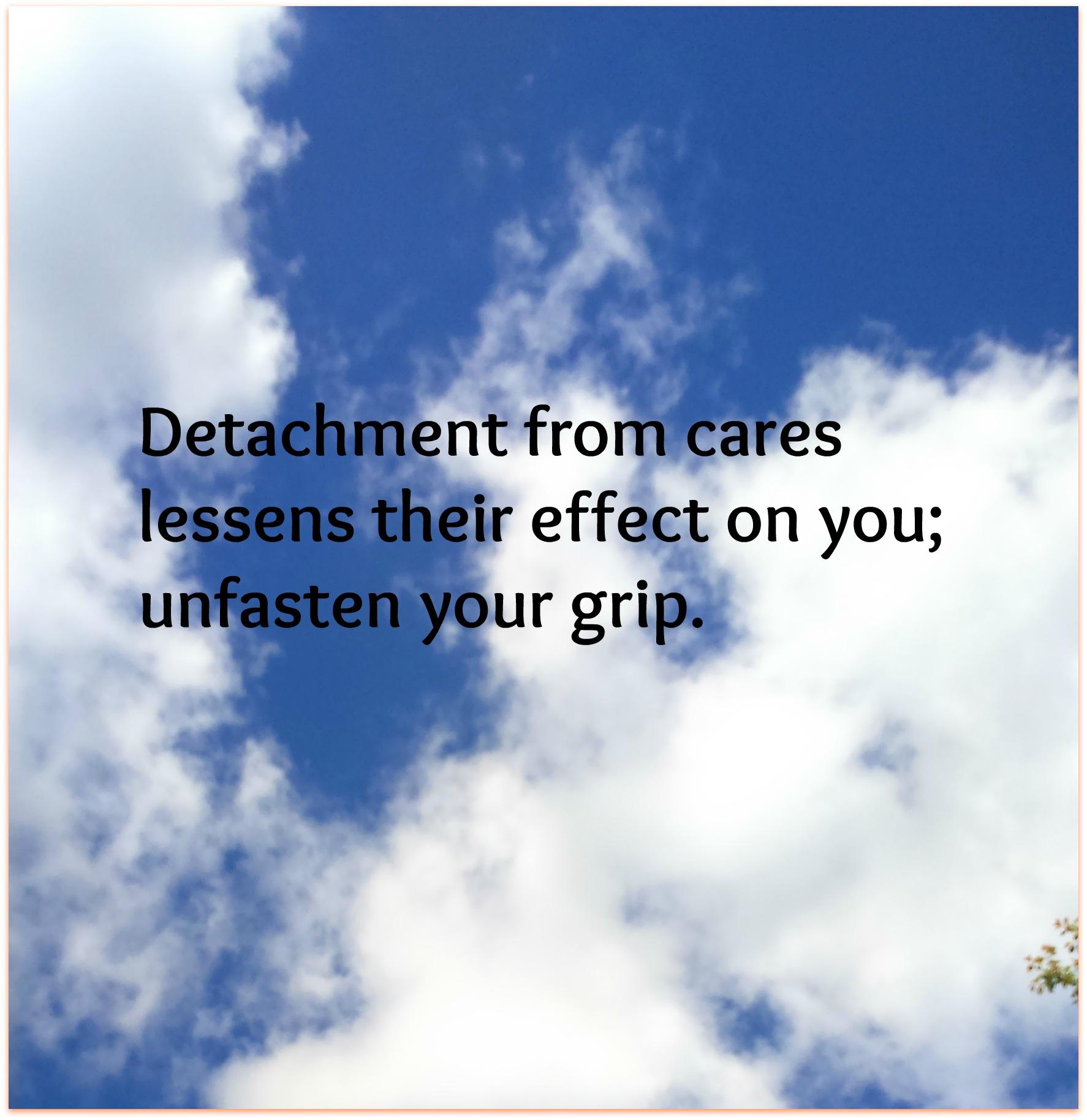 detachment haiku